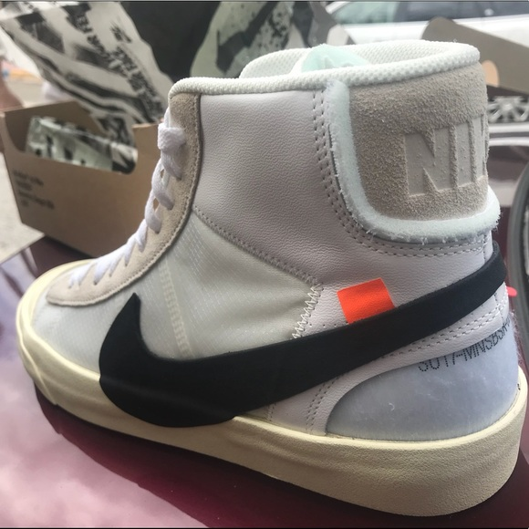 d3341d90353f1 Off-White Shoes | The 10 Nike Offwhite Blazer Mid Ds Sz 10 New ...